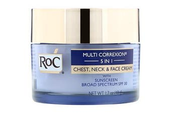 RoC, Multi Correxion 5 in 1, Chest, Neck & Face Cream, 48 g