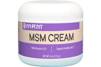 MRM MSM Cream + Vitamin A & D for Healthy Skin Support 113g