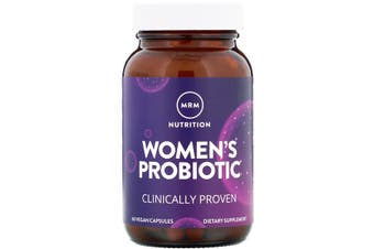 MRM Women's Probiotic Clinically Proven Support 60 Vegan Capsules