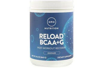 2x Reload BCAA+G Post-Workout Recovery - Lemonade