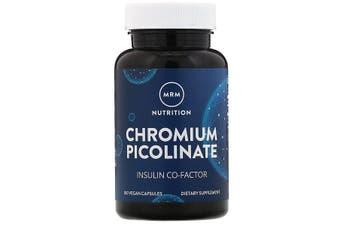 MRM Nutrition Chromium Picolinate Healthy Blood Sugar Levels Support - 200mcg, 100 Vegan Capsules