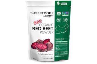 MRM Raw Organic Red Beet Root Powder Beta Vulgaris Beetroot Extract 240g