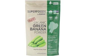 MRM Raw Organic Green Banana Powder Magnifico Guineo Verde 240g