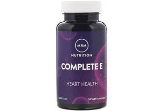 MRM Nutrition Complete Vitamin E & C + Natural Tocopherol Blend 60 Softgels