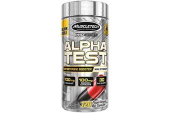 Muscletech AlphaTest - 120 Capsules