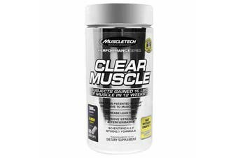 Muscletech Clear Muscle - 168 Capsules