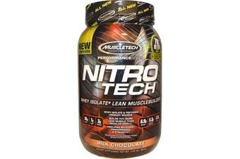 Muscletech Nitrotech - Milk Chocolate 907g