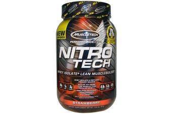 Muscletech Nitrotech - Strawberry 907g