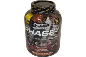 Muscletech Phase 8 Multi-Phase 8 Hour Protein - Milk Chocolate 2kg