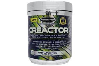 Muscletech Creactor 220g - Unflavoured