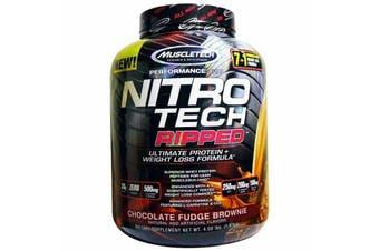 Muscletech Nitrotech Ripped - Chocolate Fudge Brownie 1.81kg