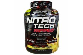 Muscletech Nitrotech Ripped - French Vanilla Swirl 1.81kg