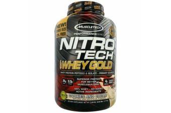 Muscletech Nitrotech 100% Whey Gold - Cookies & Cream 2.5kg