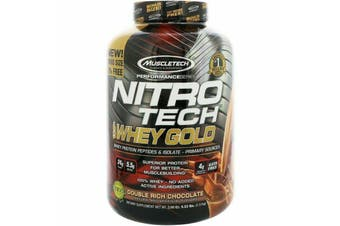 Muscletech Nitrotech 100% Whey Gold - Double Rich Chocolate 2.5kg