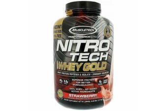 Muscletech Nitrotech 100% Whey Gold - Strawberry 2.5kg