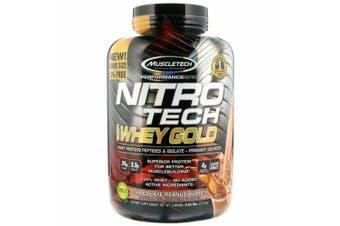 Muscletech Nitrotech 100% Whey Gold  - Chocolate Peanut Butter 2.5kg