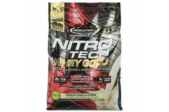 Muscletech Nitrotech 100% Whey Gold - Double Rich Chocolate 3.6kg