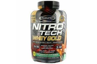 Muscletech Nitrotech 100% Whey Gold - Mint Choc Chip Sundae 2.49kg