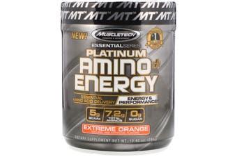 Muscletech Platinum Amino Energy - 30 Serves Extreme Orange