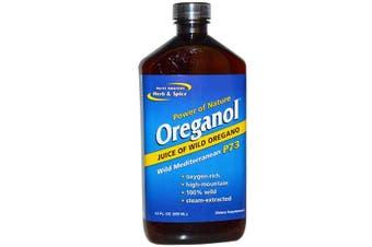 North American Herb & Spice Oreganol 100% Wild Oregano Mediterranean P73 355ml