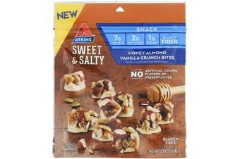 Atkins Sweet & Salty Snacks Honey Almond Vanilla Crunch Bites (150g)