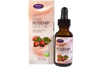 Life-flo Pure Rosehip Seed Oil Skin Care Natural Cold Pressed Certified Organic 30ml