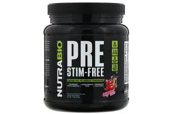 NutraBio Labs PRE-Workout Stim-Free Zero Caffeine Pre Workout - Dragonfruit Candy, 573g