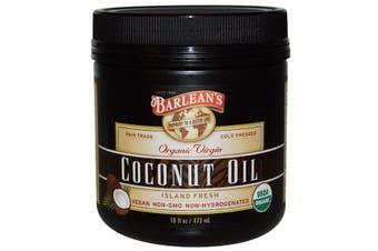 Barlean's, Organic Virgin Coconut Oil, 473 ml