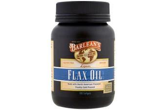 Barlean's, Lignan Flax Oil, 100 Softgels