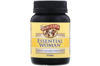 Barlean's, Essential Woman Supplement, 120 Softgels