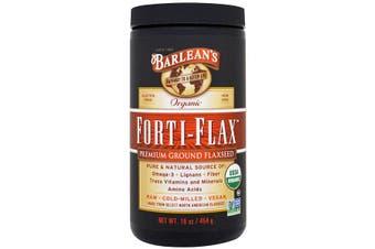 Barlean's, Organic Forti-Flax, Premium Ground Flaxseed,454 g