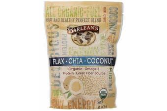 Barlean's, Flax-Chia-Coconut Blend, 340 g