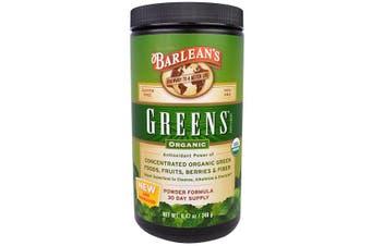 Barlean's, Greens, Powder Formula, Organic 240 g