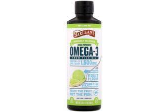 Barlean's, Omega-3 Fish Oil, Key Lime Pie, 1,500 mg, 454 g