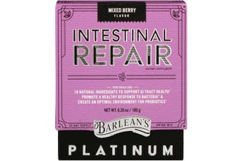 Barlean's, Platinum Intestinal Repair, Mixed Berry Flavor, 180 g