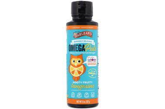 Barlean's, Seriously Delicious Omega Pals, Hooty Fruity Tangerine Flavor, 227 g