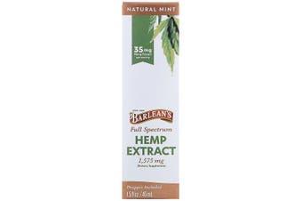 Barlean's, Full Spectrum Hemp Extract, Natural Mint, 35 mg, 45 ml