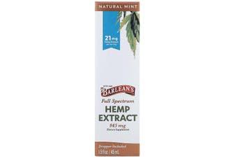 Barlean's, Full Spectrum Hemp Extract, Natural Mint, 21 mg, 45 ml