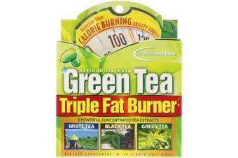 Applied Nutrition Green Tea Triple Fat Burner Maximum Strength Extracts 30 Liquid Softgels