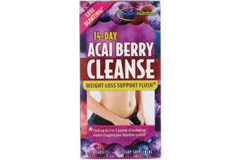 Applied Nutrition 14 Day Acai Berry Cleanse Weight Loss Support Flush 56 Tablets