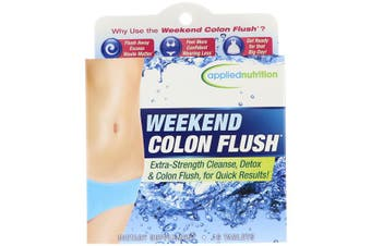 Applied Nutrition Weekend Colon Flush Extra Strength Cleanse Detox for Fast Results 16 Tablets