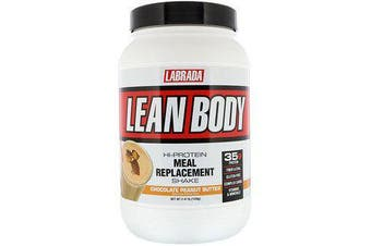 Labrada Nutrition,Lean Body, Hi-Protein Meal Replacement Shake - Chocolate Peanut Butter