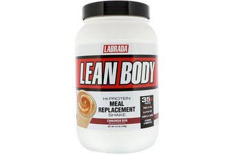 Labrada Nutrition,Lean Body, Hi-Protein Meal Replacement Shake - Cinnamon Bun