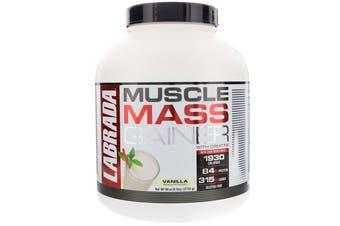 Labrada - Muscle Mass Gainer - Vanilla Flavour - 2722g