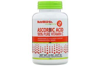 NutriBiotic Immunity Ascorbic Acid 100% Pure Vitamin C Pharmaceutical Grade Crystalline Powder 227g
