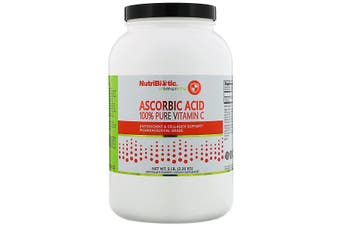 NutriBiotic Immunity Ascorbic Acid 100% Pure Vitamin C Pharmaceutical Grade Crystalline Powder 2.26kg