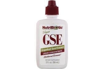 NutriBiotic Vegan GSE Grapefruit Seed Extract Liquid Concentrate - 59ml