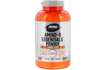 Now Foods Sports Amino-9 Essentials Powder EAA Essential Amino Acids 330g