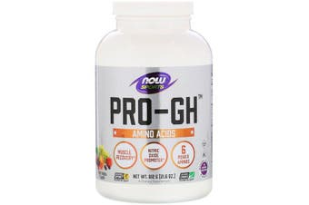 Now Foods Sports Pro-GH Supports Healthy Endocrine Function & Nitric Oxide Booster Fruit Punch - 612g