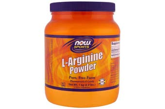 Now Foods Sports L-Arginine Powder 100% Pure Powder Nitric Oxide Precursor 1kg